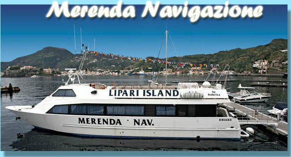 Excursions to the Eolian Islands with the Ship Lipari Island . WELCOME ABOARD !